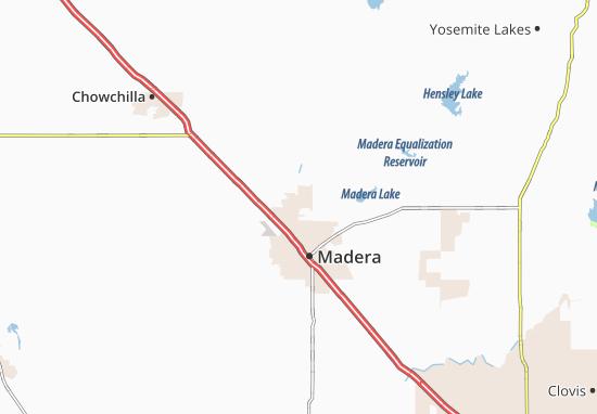 Madera Acres Map