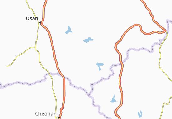 Pyeongtaeg Map: Detailed maps for the city of Pyeongtaeg - ViaMichelin
