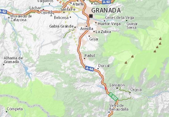 Padul Map