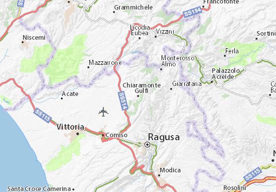 Mappe-Piantine Chiaramonte Gulfi