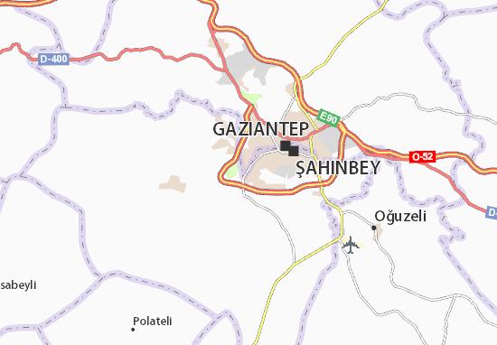 Güneykent Map