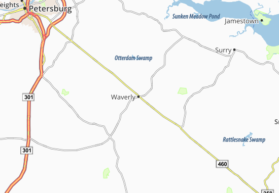 Mapas-Planos Waverly