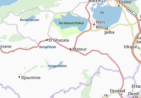 Mapa Plano Mateur