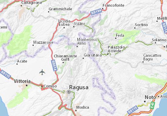 Mappe-Piantine Giarratana