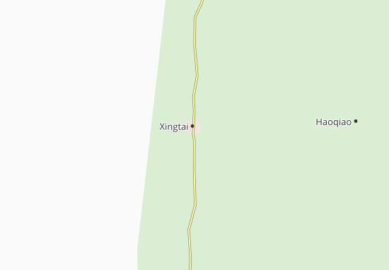 Kaart Plattegrond Xiangtai