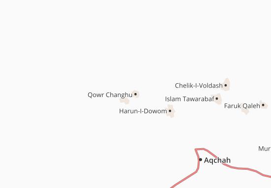 Kaart Plattegrond Qowr Changhu