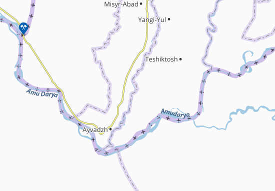 Mappe-Piantine Shakh