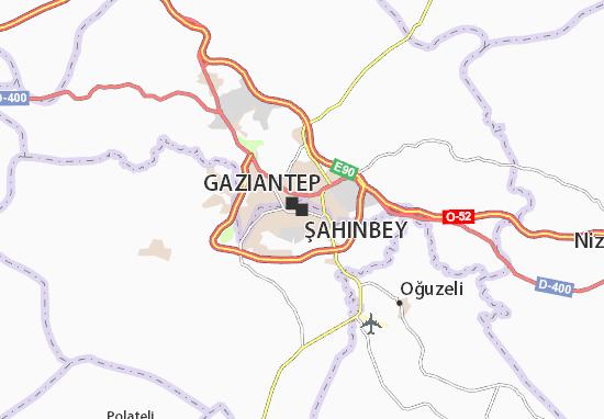 Kaart Plattegrond Şahinbey