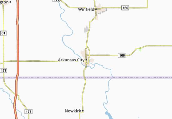 Carte-Plan Arkansas City