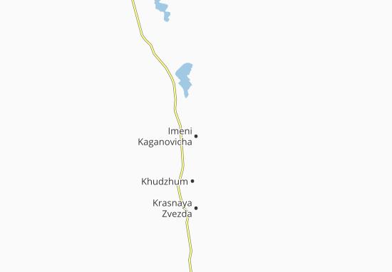 Mapa Plano Imeni Kaganovicha