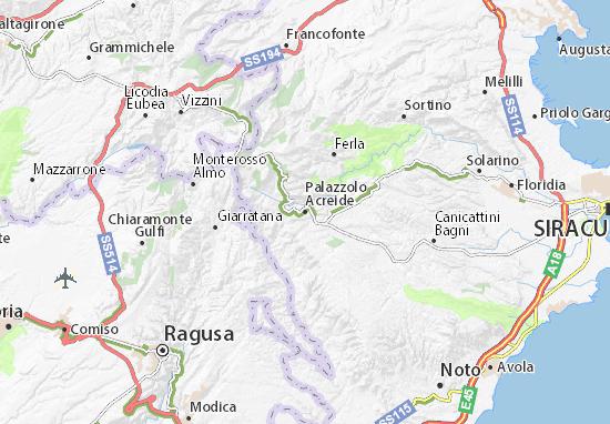 Mappe-Piantine Palazzolo Acreide