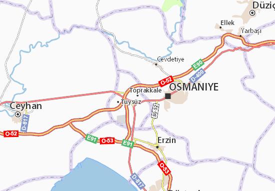 Mapas-Planos Toprakkale