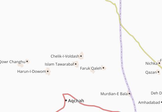 Chelik-I-Voldash Map