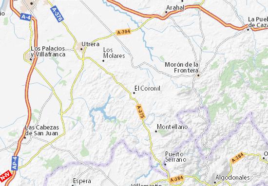 El Coronil Map