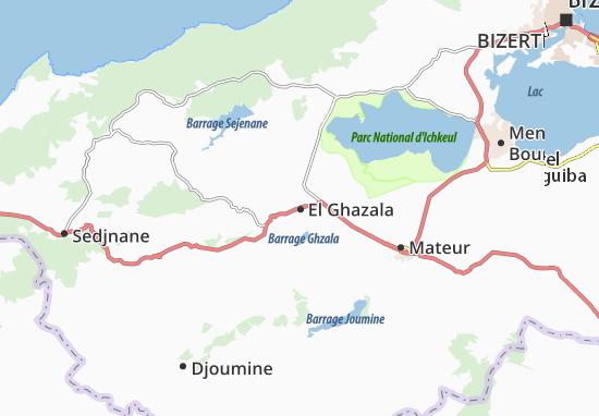 Mapas-Planos El Ghazala