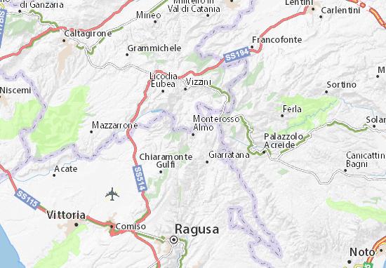 Mappe-Piantine Monterosso Almo