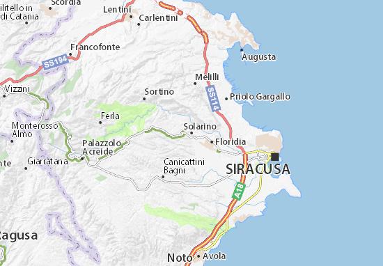 Mappe-Piantine Solarino