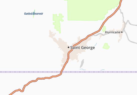 Saint George Map