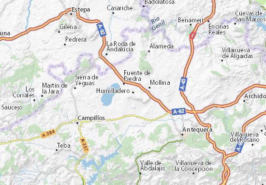 Humilladero Map
