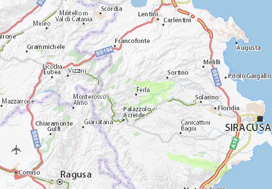 Mappe-Piantine Ferla