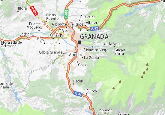 Mapas-Planos La Zubia