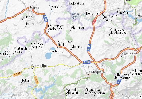 Mollina Map