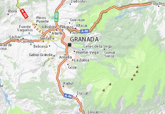 Monachil Map