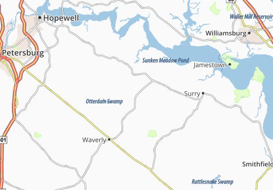 Savedge Map