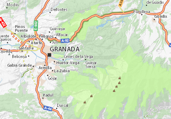 Mapas-Planos Güéjar Sierra