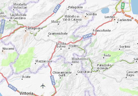 Carte-Plan Vizzini