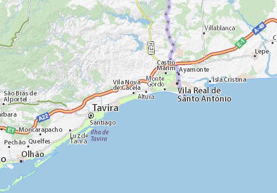 manta rota mapa Map of Manta Rota   Michelin Manta Rota map   ViaMichelin manta rota mapa