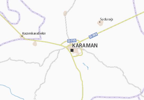 Karaman Map