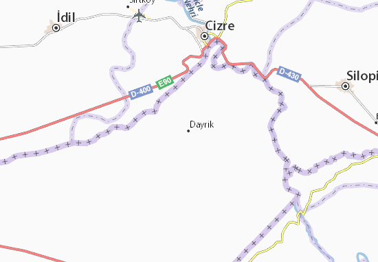 Mapa Plano Dayrik