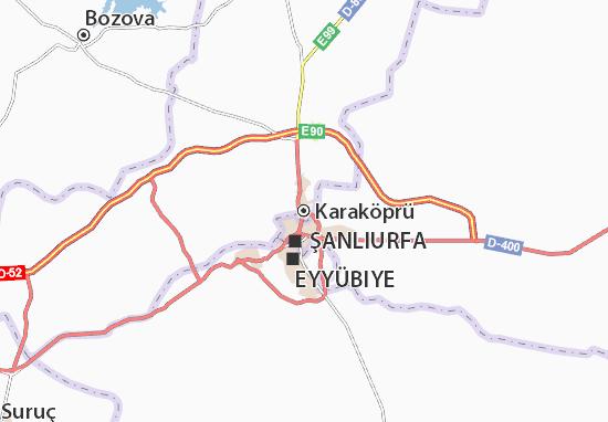 Mappe-Piantine Karaköprü