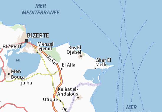Mapas-Planos Ras El Djebel
