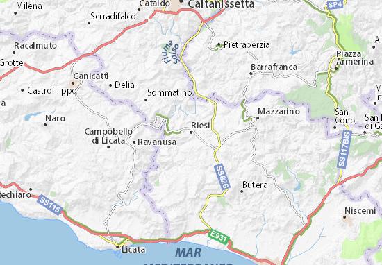 Mappe-Piantine Riesi