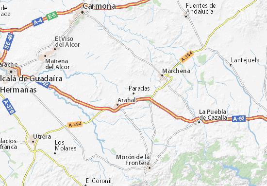 Paradas Map