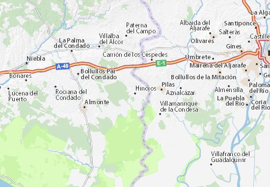 Hinojos Map