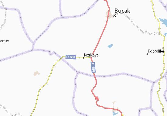 Kızılkaya Map