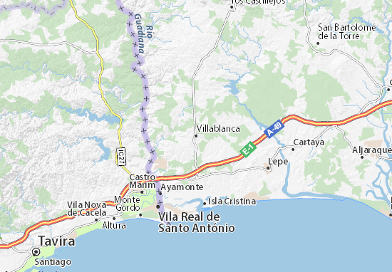Mapa Villablanca