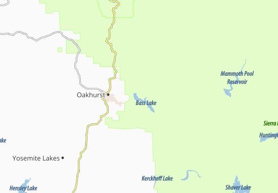 Bass Lake Map