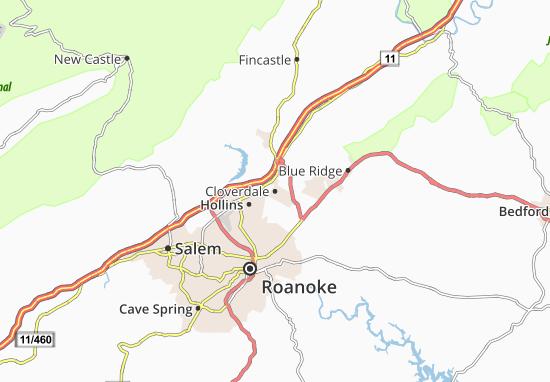Cloverdale Map