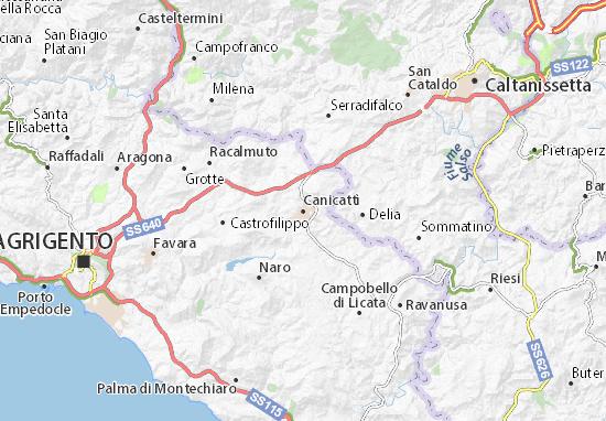 Mappe-Piantine Canicattì