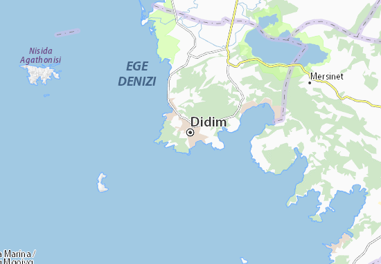 Didim Map Detailed Maps For The City Of Didim Viamichelin