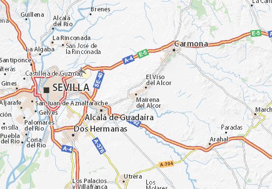 Mairena del Alcor Map