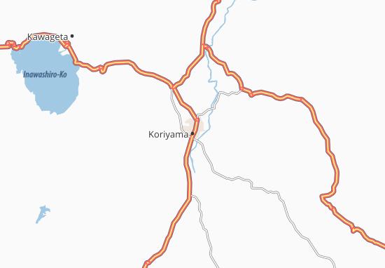 Koriyama Map