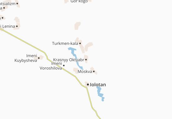 Krasnyy Oktyabr Map