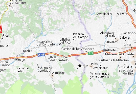 Manzanilla Map