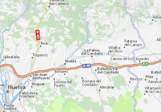 Villarrasa Map