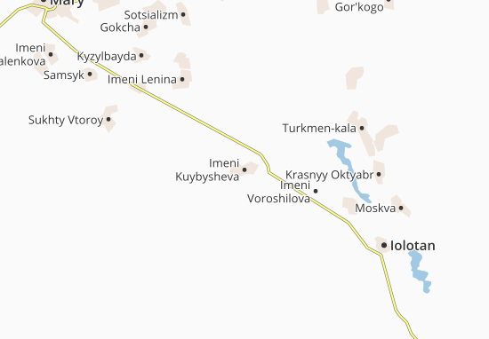 Mapas-Planos Imeni Kuybysheva